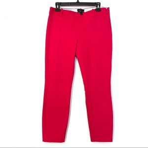 J. Crew Minnie Capri hot pink. Sz 4